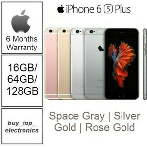 NEW APPLE IPHONE 6S PLUS 16/64/128GB GRAY/SILVER/GOLD/ AU STOCK 6 MTS WARRANTY