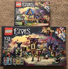 Lego Elves 41182 Capture Of Sophie Jones 41185 Rescue From Goblin Village NISB