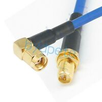 1 x RP-SMA Male to RP SMA Male Plug Pigtail flexible Cable RG402 4-36 INCHES US