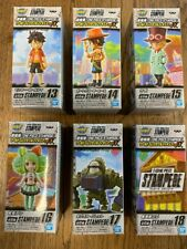 Figurine WCF One Piece Stampede Serie 3 set de 6 Banpresto