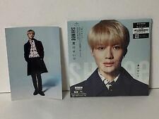 New SHINee Kimi no Sei de FC Limited Edition TAEMIN Ver. CD+Photo