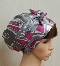 Satin head scarf, silky bonnet, sleeping cap, women head covering, Afro hair