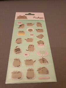 Officially Licensed Pusheen the Cat 3D Puffy Sticker Sheet