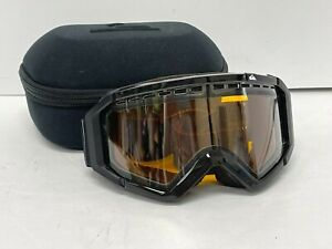 Quiksilver Ski Snowboard Goggles with Case and Cloth Bag