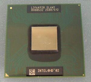 EXTREMELY RARE Intel Pentium 4-M 2.5 GHz SL6WY Processor IBM Thinkpad