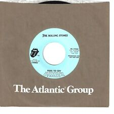 ROLLING STONES 45  Fool To Cry  (promo) - NM