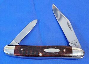 CASE XX U.S.A. 5 Dot 1975 06247PEN Bone Pocket Knife - Beautiful NM Knife - NR