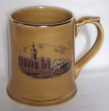 Vintage Wade of Ireland Porcelain Coffee Mug House of Parliament & Big Ben