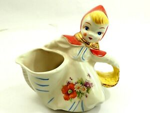 Little Red Riding Hood Hull Pottery Cream Pitcher