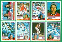 1983 TOPPS CHICAGO WHITE SOX TEAM SET   NM/MT  NL WEST CHAMPS  BAINES  FISK x3