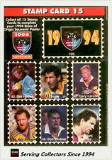 1994 Dynamic Rugby League State Of Origin Stamp Card #15