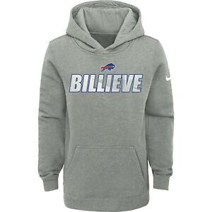 Buffalo Bills Nike Youth Boys Billieve Local Club Pullover Hoody Sweatshirt