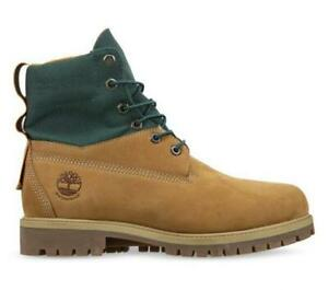 "TIMBERLAND Premium Leather Mens 6"" inch Waterproof ReBOTL Boots - Wheat Nubuck"