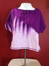 X BY GOTTEX Women's Murrbury Ombre Activewear Nylon Shirt - Size XS - NWT