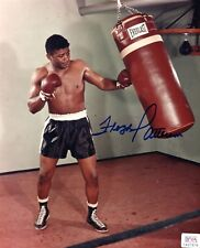 Floyd Patterson Light Heavyweight Boxer Signed Glossy 8x10 Photo PSA/DNA Auth.