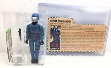 1982 HASBRO GI JOE COBRA COMMANDER MICKEY MOUSE 1st LOGO - AFA 85