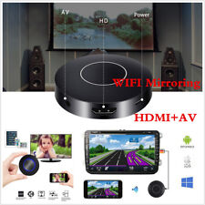 WIFI Autos Media DLNA Miracast Airplay Screen Mirroring Dongle HDMI+AV RCA TV