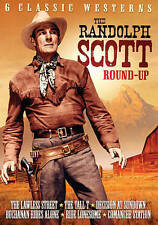 The Randolph Scott Round-Up: 6 Classic Westerns (DVD, 2015) Free Shipping!