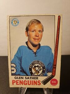 1969-70 O-Pee-Chee #116 Glen Sather Pittsburgh Penguins