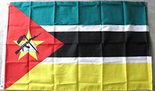 MOZAMBIQUE POLYESTER INTERNATIONAL COUNTRY FLAG 3 X 5 FEET