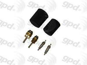 For Ford Mustang  Focus  F-150  Dodge Charger A/C System Valve Core and Cap Kit