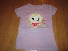 Tee-shirt mauve avec motif Souris sur l'avant,T5-6ans,marque Dopo Girls,Neuf!