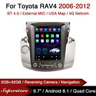 """9.7"""" Tesla Style Android Car Stereo GPS For Toyota RAV4 2006-2012"""