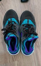 Nike Air Huarache - Size Exclusive - Purple - Blue - Black - Size 5