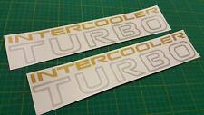 Mitsubishi Pajero Colt Shogun Intercooler Turbo replace decals stickers MK1 L040