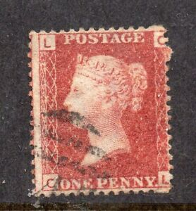 SG43 1d Rose-Red Plt222 CL S/Example CAT £50++