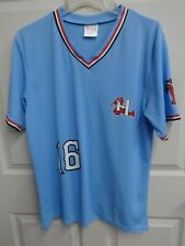 2016 MiLB Hickory Crawdads SGA Pullover Minor League Baseball Jersey Men XL