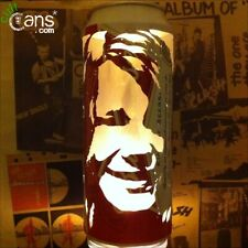 Janis Joplin Beer Can Lantern! Pop Art Portrait Candle Lamp - Unique Gift!
