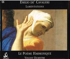 Cavalieri: Lamentations / Dumestre, Le Poeme Harmonique - CD