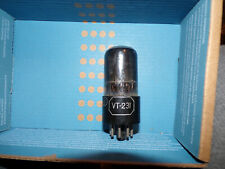 1  Excellent mil spec kenrad black glass  vt231 / 6sn7 tube  # U51