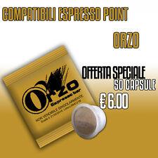 REALE CAFFÈ- 50 CAPSULE Cialde compatibili Espresso Point ORZO
