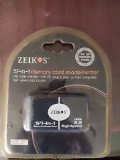 Zeikos High Speed 57-in-1 USB 2.0 Memory Card Reader