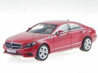 Mercedes C218 CLS-class Facelift 2014 red met. diecast model car Norev 1/43