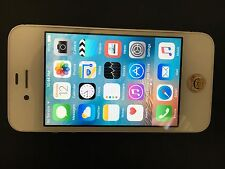 APPLE IPHONE 4S A1387 16GB WHITE (UNLOCKED) ANY GSM - VERY GOOD CONDITION
