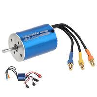 2838 4500KV 4P Sensorless Brushless Motor+35A ESC for 1/14 1/16 1/18 RC Car P6Y6