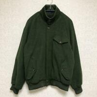 Brooks Brothers Roden Wool Blouson Olive Green Size M