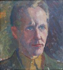Selbstportrait,Lucien Binaepfel 1893,Expressionist