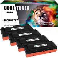 4 Pack Toner Fit for Xerox 106R02777 WorkCentre 3215 3225 Phaser 3260 High Yield