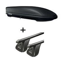 Dachbox MAA400L matt+Dachträger Original STA für Mercedes CLA ShootBr 5Tür ab15