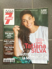 TELE 7 JOURS N 3026 26/05/2018 TATIANA SILVA   F85