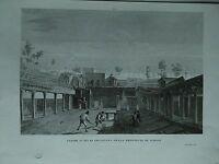 1845 Zuccagni-Orlandini Ultimi Scavi di Ercolano nella Provincia di Napoli