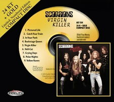 Audio Fidelity AFZ 134 GOLD CD: SCORPIONS - Virgin Killer - OOP 2012 USA SEALED