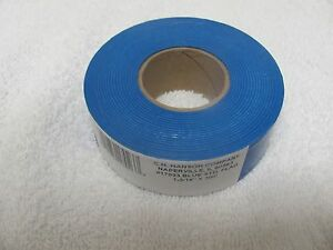 Hanson 17023  300' Blue Vinyl Flag Marking Ribbon Tape