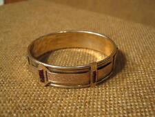 ███►uraltes ausgefallenes Armband mit Rubin - Biedermeier -