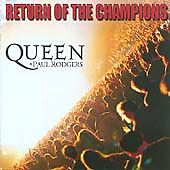 Queen & Paul Rodgers - Return of the Champions (Live Recording, Double CD Album)