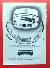 B933-Advertising Pubblicità-1959 - PHILIPS BI-AMPLI STEREO